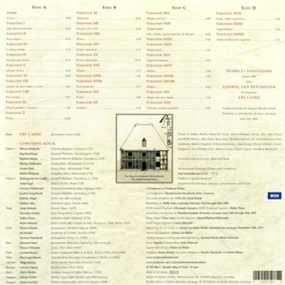 Uri Caine - Diabelli Variations (2LP)