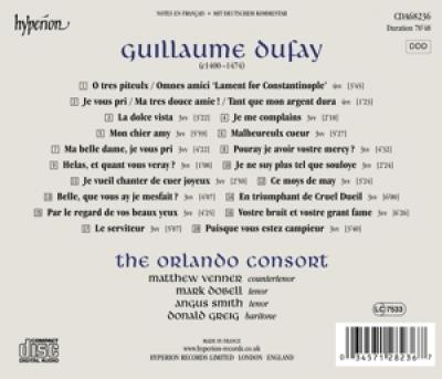 The Orlando Consort - Lament For Constantinople & Other S CD