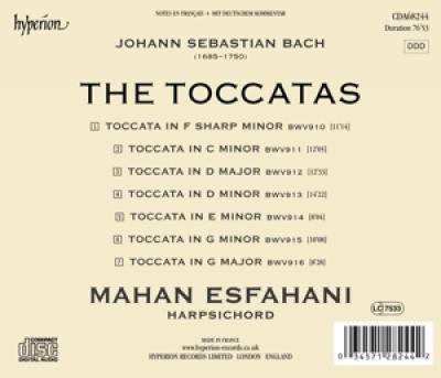 Mahan Esfahani - The Toccatas