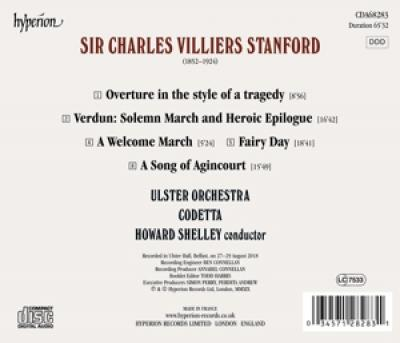 Ulster Orchestra Howard Shelley - A Song Of Agincourt