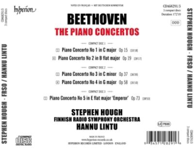 Stephen Hough - The Complete Piano Concertos (3CD)