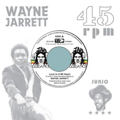 Wayne Jarrett & Roots Radics - Love In A Mi Heart/Blood On His Lip (7INCH)