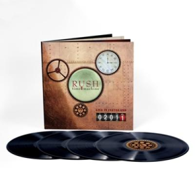 Rush - Time Machine 2011 Live In Cleveland 4LP