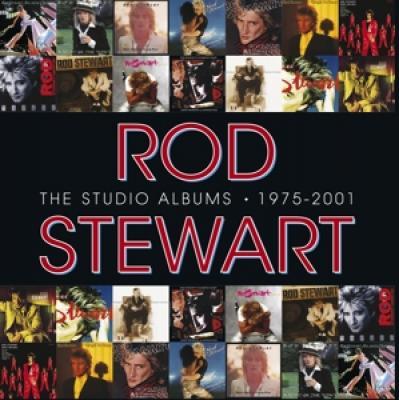Stewart, Rod - Studio Albums (1975-2001) (14CD)
