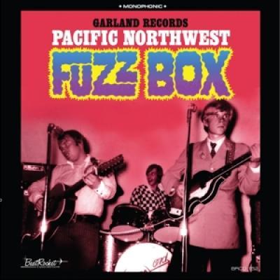 V/A - Pacific Northwest Fuzz Box, Garland Records (Blue Vinyl) (LP)