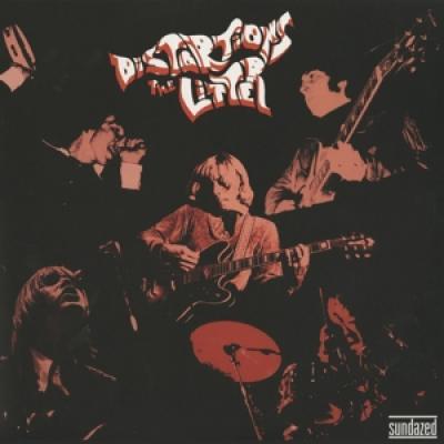 Litter - Distortions (Red With Black Swirls Vinyl) (LP)