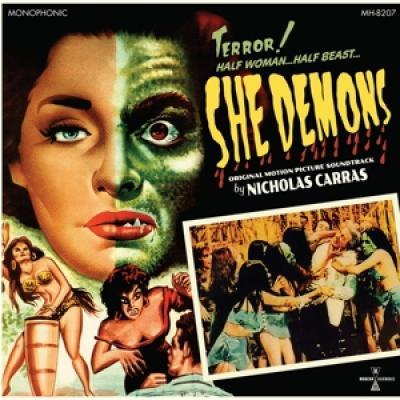 Ost - She Demons (Music By Nicholas Carras) (Green Vinyl) (LP)