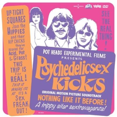 Ost - Psychedelic Sex Kicks (Incl.Movie) (LP+DVD)
