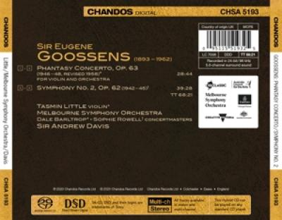Melbourne Symphony Orchestra Sir An - Goossens Orchestral Works Vol.3 (SACD)