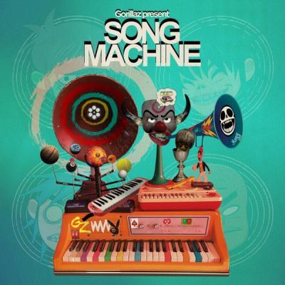 GORILLAZ - SONG MACHINE, SEASON 1 (LP) (Coloured)