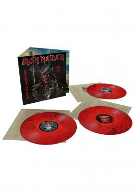 Iron Maiden - Senjutsu (Red & Black Vinyl) (3LP)