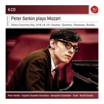 Serkin, Peter - Plays Mozart 6CD