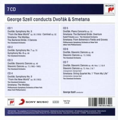 Szell, George - Conducts Dvorak & Smetana 7CD