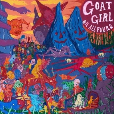 Goat Girl - On All Fours (Transparent Pink) (2LP)