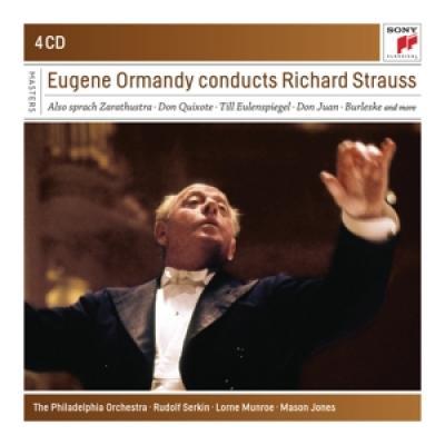 Ormandy, Eugene - Conducts Richard Strauss (4CD)