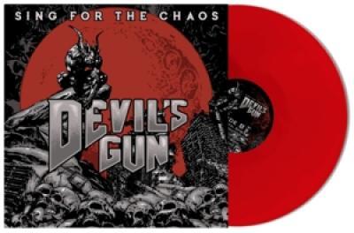Devils Gun - Sing For The Chaos (Red Vinyl) (LP)