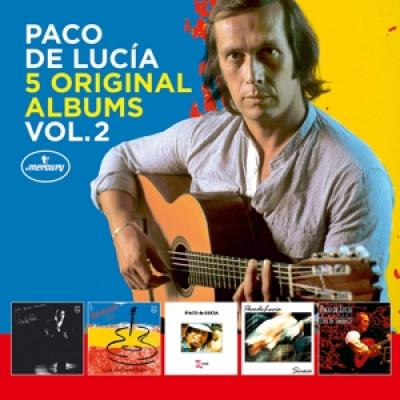 Lucia, Paco De - 5 Original Albums Vol.2 (5CD)