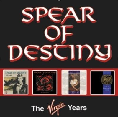 Spear Of Destiny - Virgin Years (4CD)