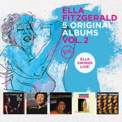 Fitzgerald, Ella - 5 Original Albums Vol.2 (5CD)