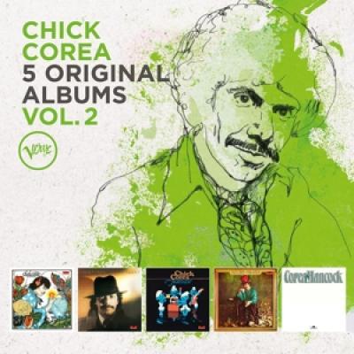 Corea, Chick - 5 Original Albums Vol.2 (5CD)