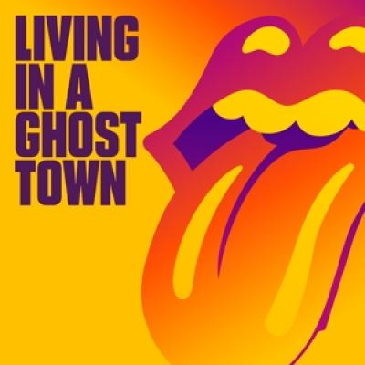 Rolling Stones - Living In A Ghost Town (Orange Vinyl) (12INCH)