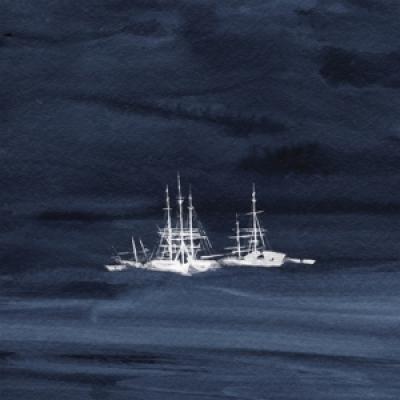 Kauan - Ice Fleet (Sea Blue Vinyl) (LP)