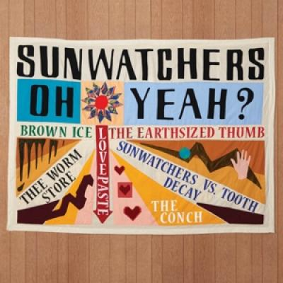 Sunwatchers - Oh Yeah? (Brown Ice Vinyl) (LP)