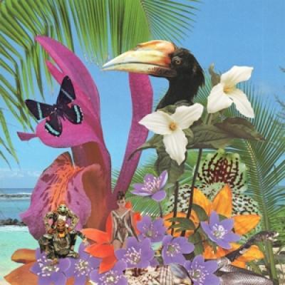 Monster Rally - Adventures On The Floating Island (Translucent Purple Vinyl) (LP)