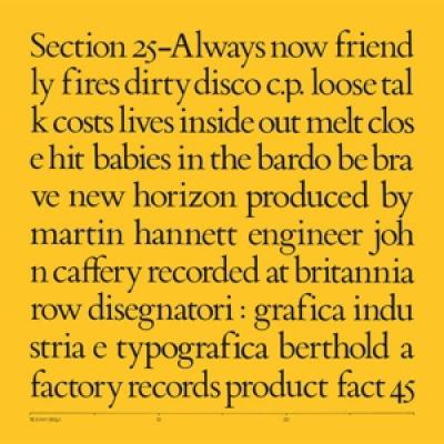 Section 25 - Always Now (Box) (5LP)