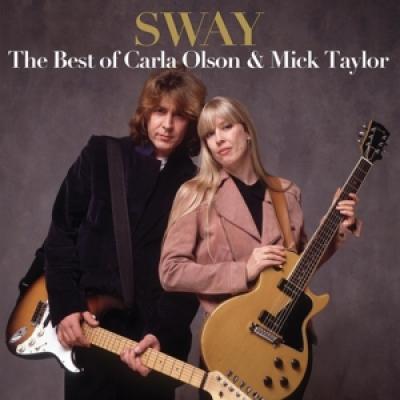 Olson, Carla & Mick Taylo - Best Of Carla Olson & Mick Taylor (Opaque Red Vinyl) (LP)
