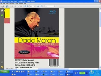 Dado Moroni - Live In Beverly Hills (LP)