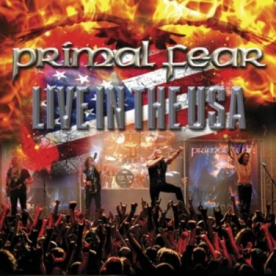Primal Fear - Live In The Usa (White, Blue & Red Marbled Vinyl) (2LP)