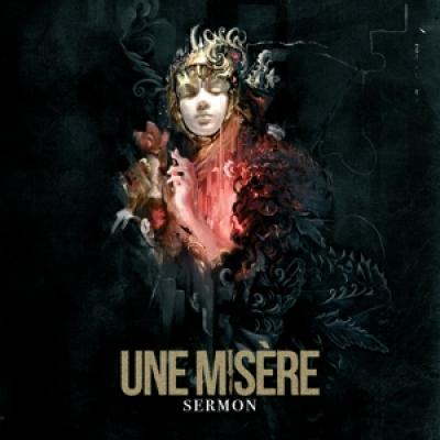 Une Misere - Sermon (Black/Gold Splatter Vinyl) (LP)