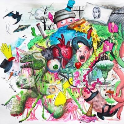 Tropical Fuck Storm - Braindrops (Hot Magenta) (LP)