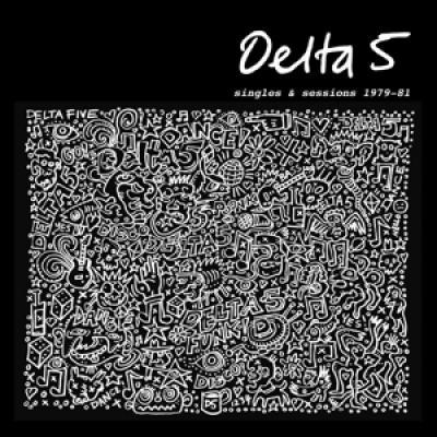 Delta 5 - Singles & Sessions 1979-1981 (Black/White On Clear Vinyl) (LP)