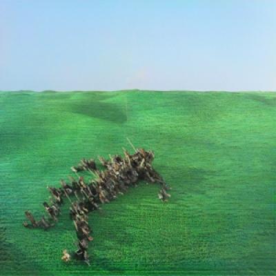 Squid - Bright Green Field (Red Cassette) (MUSIC CASSETTE)