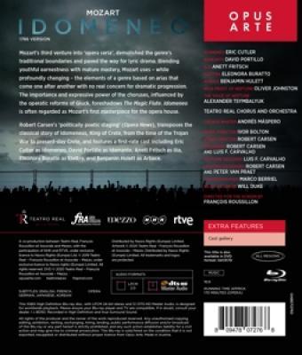 Teatro Real Choir & Orchestra Ivor - Idomeneo (BLURAY)