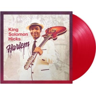 Hicks, King Solomon - Harlem (Red Transparent Vinyl) (LP)