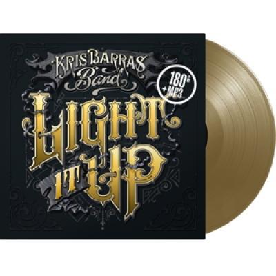Barras, Kris -Band- - Light It Up (Gold Coloured Vinyl) (LP)