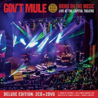 Gov'T Mule - Bring On The Music (Live At The Capitol Theatre) (2CD+DVD)