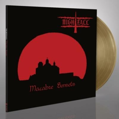Nightfall - Macabre Sunsets (Gold Coloured Vinyl) (LP)