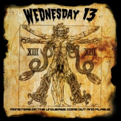 Wednesday 13 - Monsters Of The Universe Come Out A (LP)