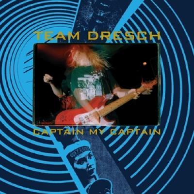 Team Dresch - Captain My Captain BLUE VINYL