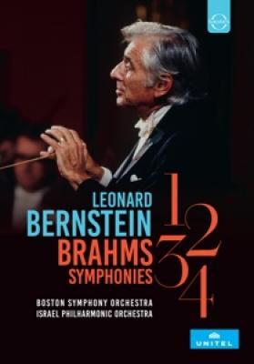Bernstein, Leonard - Brahms Symphonies 1-4 (Boston Symphony Orchestra/Israel P.O. / Ntsc) (2DVD)