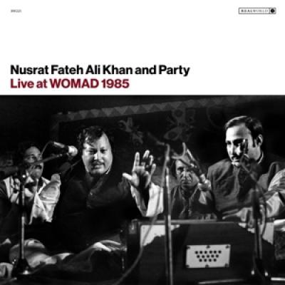 Nusrat Fateh Ali Khan - Live At Womad 1985 (LP)