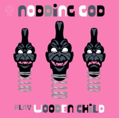 Nodding God - Play Wooden Child (Pink Vinyl) (LP)