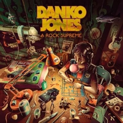Danko Jones - A Rock Supreme CLEAR ORANGE VINYL