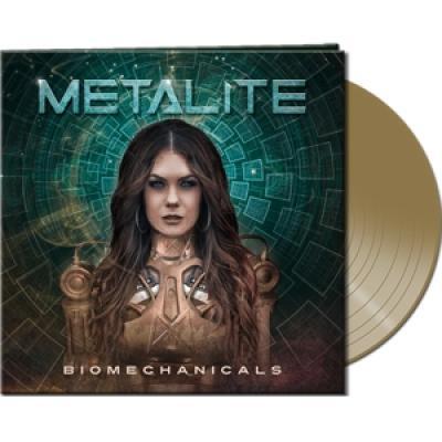 Metalite - Biomechanicals (Gold Vinyl) (LP)
