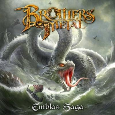 Brothers Of Metal - Emblas Saga (Green Vinyl) (2LP)