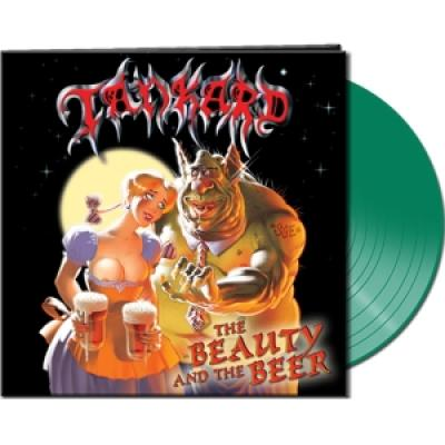 Tankard - Beauty And The Beer (Clear Green Vinyl) (LP)